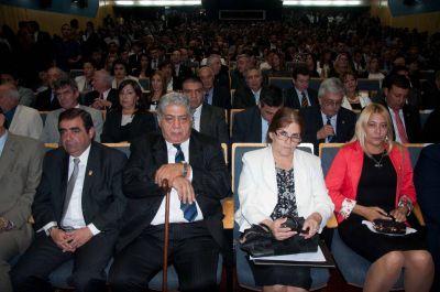 Para la oposición, el discurso de Corpacci fue vacío y careció de anuncios concretos