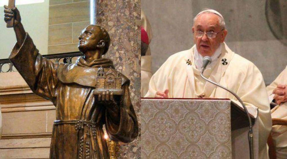 Papa Francisco: Fray Junípero Serra nos reta a salir a las periferias