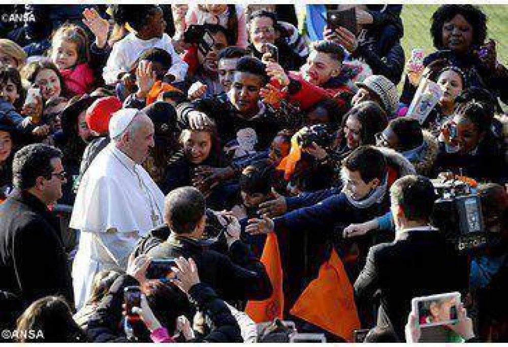El Papa vuelve a la periferia romana visitando una parroquia de su diócesis