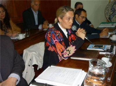 Por unanimidad: los concejales reconocieron la labor de Soraya Eberhard en el HCD