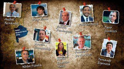 Insólito: 20 nombres para pelear por la gobernación bonaerense