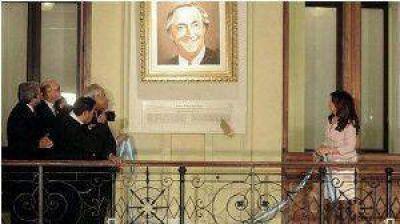 Corpacci, en el homenaje a Néstor Kirchner