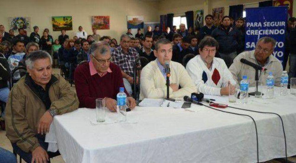 """Sampayo desafió a Capitanich y Martínez a denunciar los casos de supuestos """"ñoquis"""""""