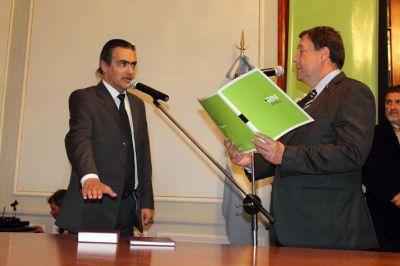 Asumió Valeri en el ministerio de Obras Públicas
