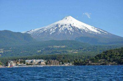 El volc�n Villarrica en alerta naranja y el Copahue en