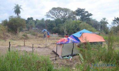 Okupas: se duplicaron en el 17 de Agosto y suman casi 400 familias en últimos casos
