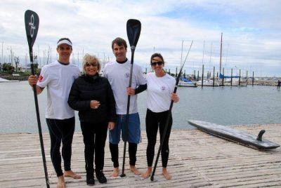 Tres deportistas del Club Náutico de Mar del Plata al primer mundial de Stand Up Paddle