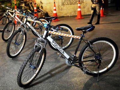 Llegaron las bicicletas para la Policía