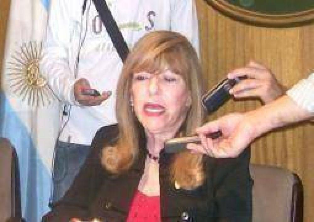 La senadora Quintela impulsa nueva ley de alquileres