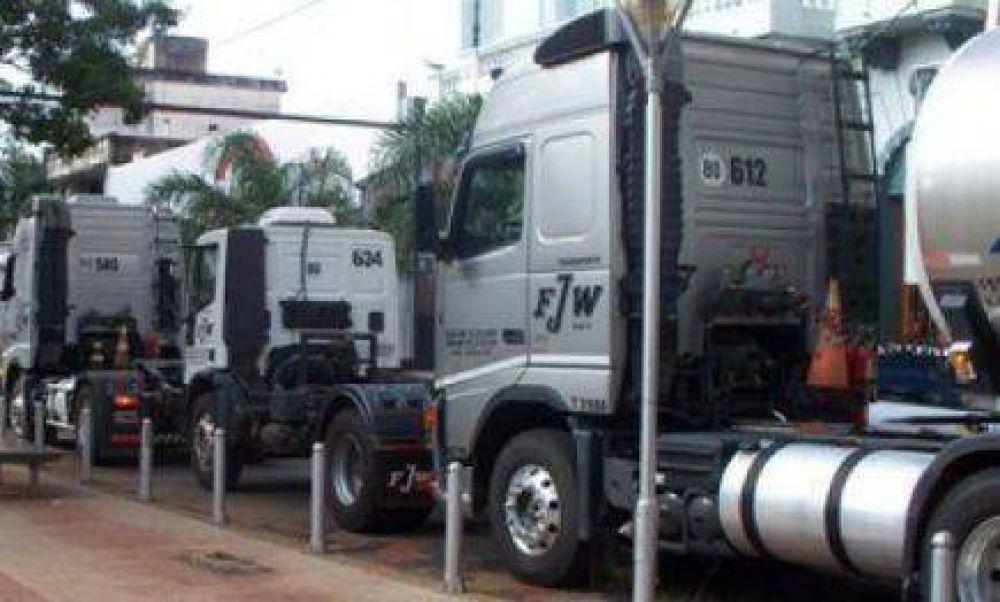 Camioneros reclama frente a empresa de transporte por el encuadramiento gremial