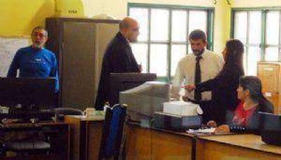Allanaron el Municipio chacarero por la denuncia de Brizuela