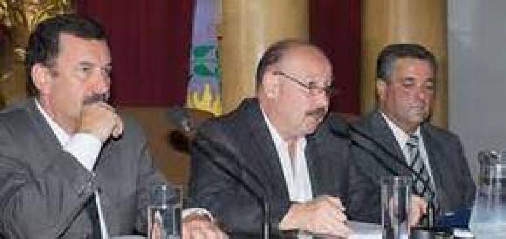 Carta enviada por el Intendente Inza al Presidente del Concejo Deliberante
