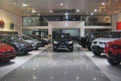 Continúa la desaceleración en la caída de venta de autos 0 km