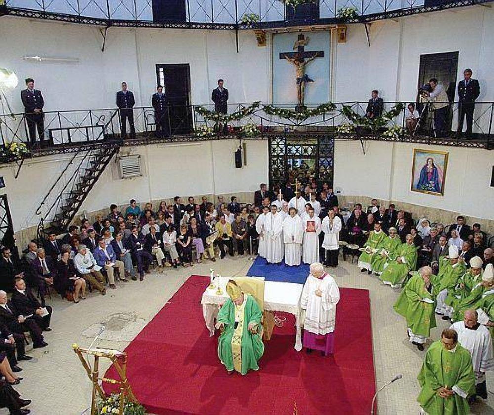 Los gestos papales para los que están tras las rejas