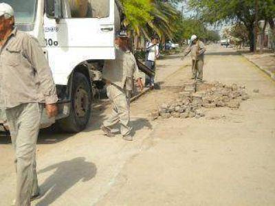 Aprueban obras de pavimentación para calles de La Banda