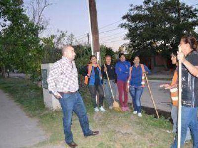 Brigadas de limpieza trabajaron en los barrios La Fraternidad y Ramos Taboada