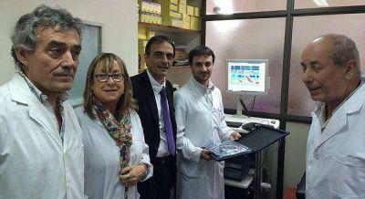 Incorporaron novedoso equipo para diagnosticar problemas digestivos