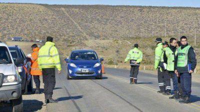 Desarrollaron controles de velocidad en Rada Tilly con radar y fotomulta