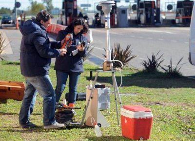 Realizaron estudios de calidad del aire en la Autopista Buenos Aires-La Plata