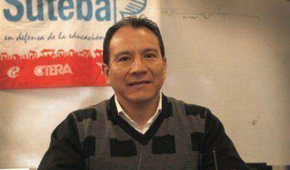 """Santos Ibáñez aseguró que """"los docentes somos presa de todo proyecto que se le ocurra a un legislador"""""""