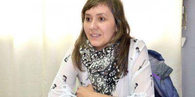 AYER: Cristina Lara asumi� en la Delegaci�n de Loter�a