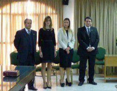 Juraron cuatro nuevos fiscales en Neuquén