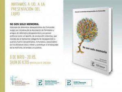 """PRESENTACIÓN DEL LIBRO """" NO SON SÓLO MEMORIAS"""""""