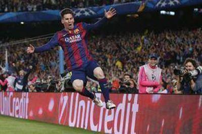 Cuando Barcelona m�s lo necesitaba, apareci� Messi con dos golazos y una asistencia: 3-0 contra Bayern