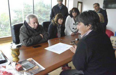 Peralta solicitará el retiro de la Concesión de la empresa CAMUZZI en Gobernador Gregores