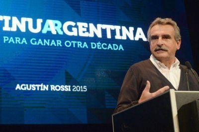 Agustín Rossi aseguró que piensa en una mujer para compañera de fórmula