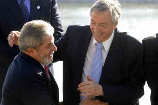 Cristina destacó la carta de Lula en homenaje a Néstor Kirchner
