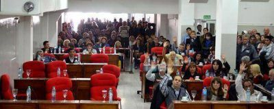 Sin el kirchnerismo, se aprobó la Rendición de Cuentas 2014 de la gestión Katopodis