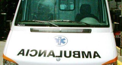 Santa Lucía: Reparan ambulancia del Hospital, Giovanettoni se comprometió a colaborar