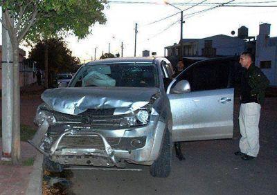 Ordenan el secuestro de una camioneta que choc� y dej� heridos graves