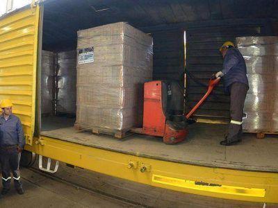 Llegó al Mercado Central de Buenos Aires el primer envío de productos mendocinos en tren