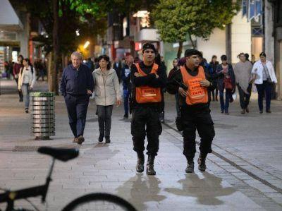 Tras las quejas de los comerciantes por los robos, el centro se saturó de policías