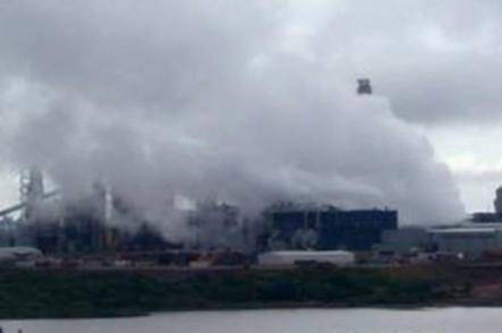 En 10 meses en UPM-Botnia hubo nueve incidentes graves con emisiones gaseosas tóxicas