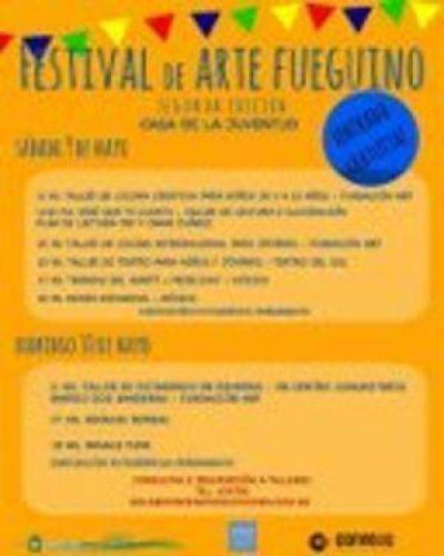 El fin de semana se realizará la 2da edición del Festival de Arte Fueguino