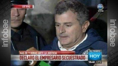 Larga declaraci�n del empresario secuestrado: