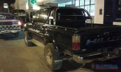 Hallaron en Corrientes una camioneta que fue sustraída en Buenos Aires