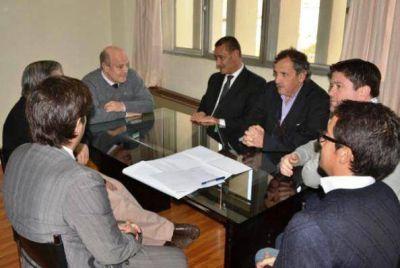 El rector de la UNLPam recibió a Larrañaga