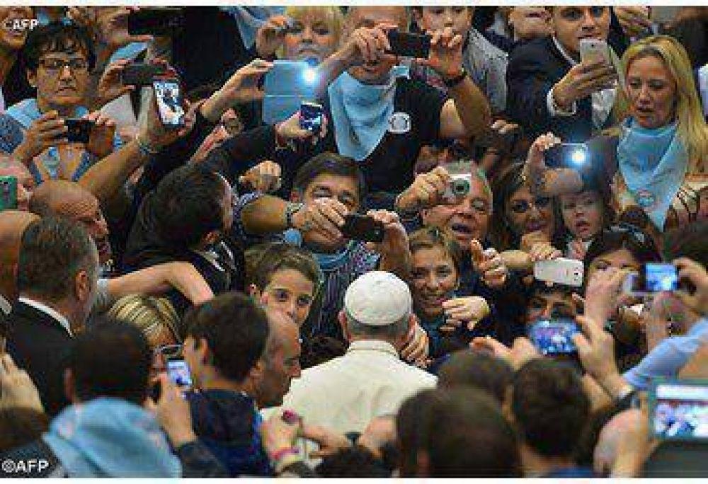 """Papa Francisco: """"Toda disciplina deportiva tiene un valor no solo físico y social, sino también moral"""""""