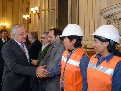 CASA DE GOBIERNO: Se conmemoró el Día de la Minería.