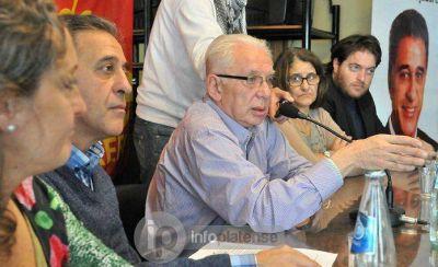 """Altamira en La Plata: """"A los candidatos del ajuste le oponemos un Frente de los Trabajadores"""""""