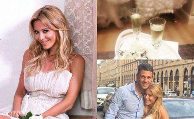 Evangelina Anderson se prepara para su súper triple boda: ¡la postal de su prueba de vestido de novia!