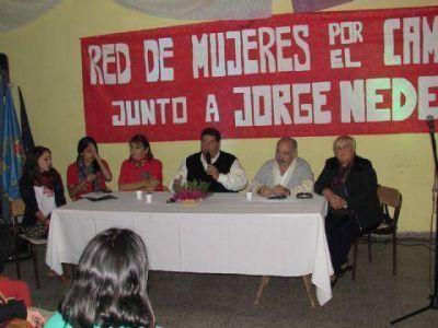 """Se lanzó la """"Red de mujeres por el cambio, junto a Jorge Nedela"""""""