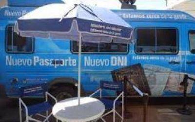 Bragado: Llegan las camionetas para realizar el DNI y el Pasaporte