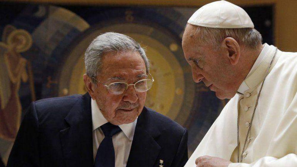 En su visita al Vaticano, Raúl Castro agradeció a Francisco su mediación entre Cuba y EEUU