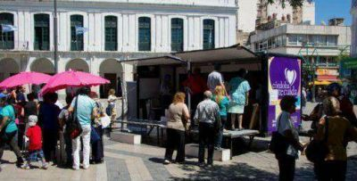 Desde ma�ana, la campa�a de vacunaci�n llega a plaza San Mart�n