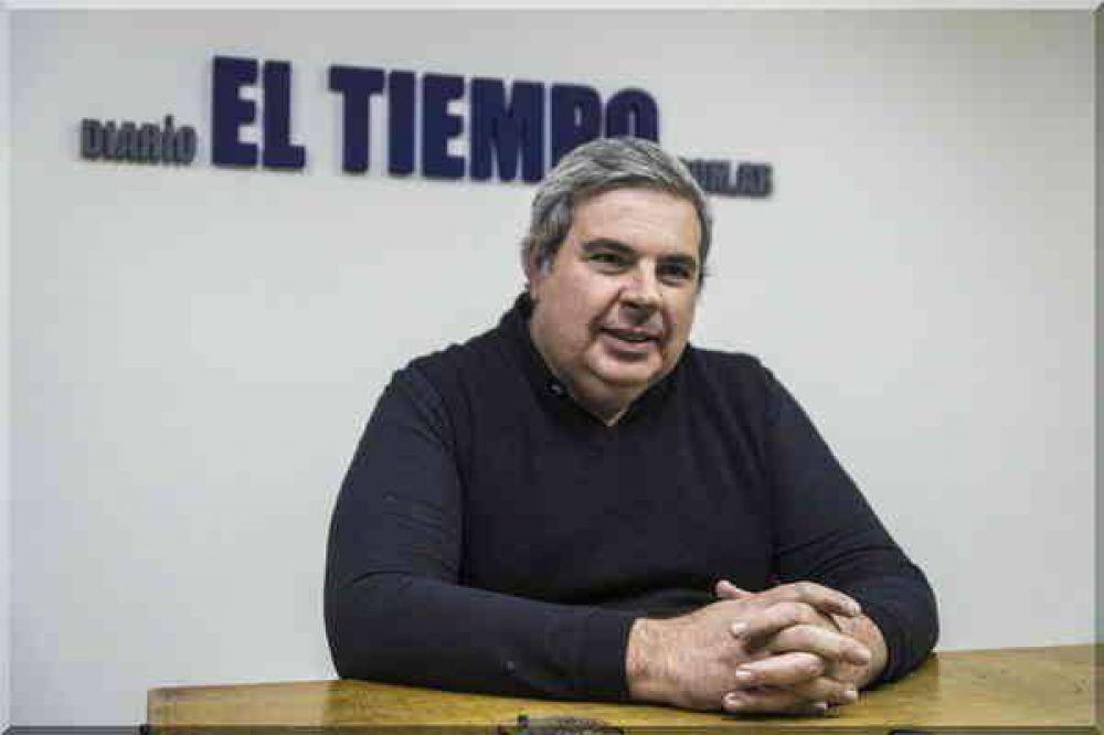 """""""Para la sociedad de Azul, el intendente Inza, en términos políticos, es un capítulo cerrado"""""""